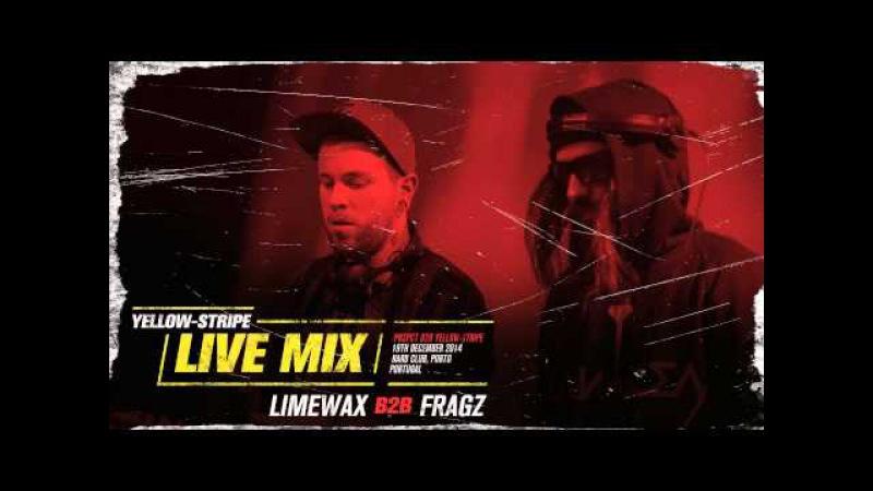 Yellow-Stripe Live Mix : Limewax b2b Fragz (2014)