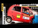 Crash Test Global Ncap INDIA - 0 STARS Tata Nano, Ford Figo Hyundai i10, VW Polo GOMMEBLOG