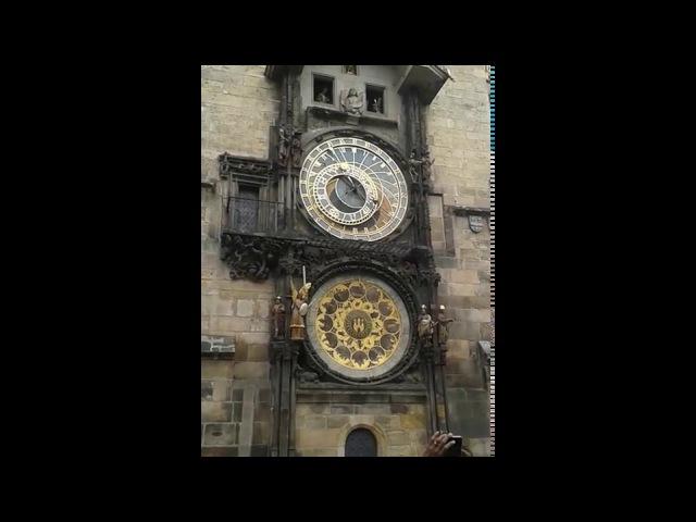 Prag astronomik saat - Astronomical clock in Prague