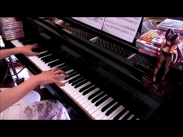 ハイスクールD×D BorN OP「BLESS YoUr NAME」ピアノ|HighSchool DxD BorN OP piano cover.