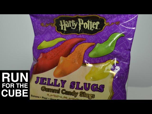 Harry Potter Gummi Jelly Slugs - Runforthecube Candy Review