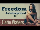 Pharrell Williams - Freedom (Catie Waters Cover)