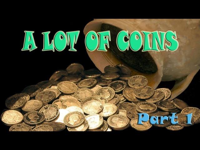 A LOT OF COINS * Part 1 I Repablica Italiana Russia USSR Polska Rzechz Pospolita UK