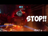Leave HARAMBE Alone...| OVERWATCH MOMENTS 1