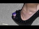 High Heels Decolte 028i T13 Purple Enamel PHOTO