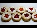 Clip Hướng dẫn cách làm bánh Linzer Cookies Recipe công thức làm bánh quy hai lớp nhân mứt