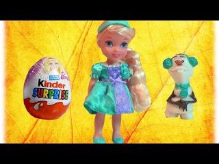 Распаковка Кукла Disney Princess Jakks Frozen Эльза 15 см из Rozetka com ua