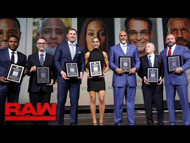 Triple H is inducted into the Boys Girls Clubs of America Alumni Hall of Fame
