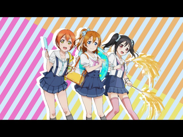 Natsuiro Egao de 1,2, Jump! - Honoka, Nico and Rin Mix | koneko909