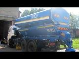 ЭД-405Б (аналог КО-823-10) - КДМ (песок 14,6 т., цистерна 12,5 м.куб., отвал, щётка), на КАМАЗ-65115