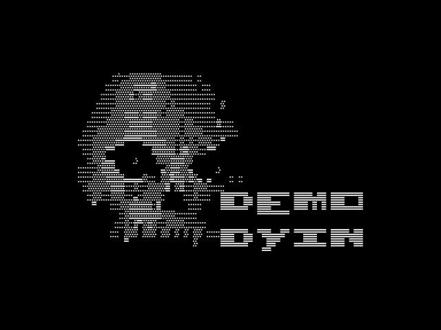 Demo Dyin by Beermans [ zx spectrum demo ]