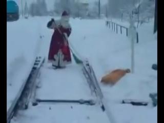 Путейцы верят в чудеса, им тоже нужен Дед Мороз