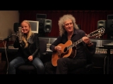 Brian May &amp Kerry Ellis in Studio. RSD, 2013