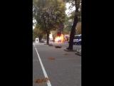Сгорела маршрутка , Одесса