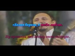 Белая берёза. Стас Михайлов.(KARAOKE from Master Sound)
