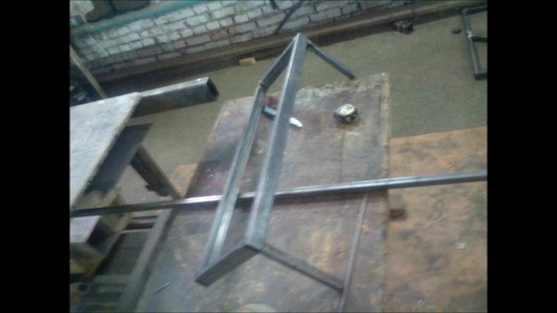 изготовление металлокаркас лестницы из профтрубы Нижняя Павловка