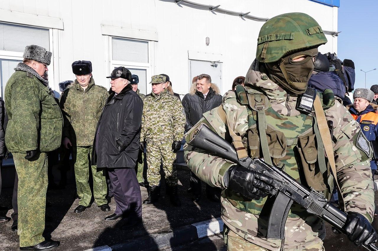 Василий Голубев провел заседание рабочей группы по вопросам реализации пограничной политики