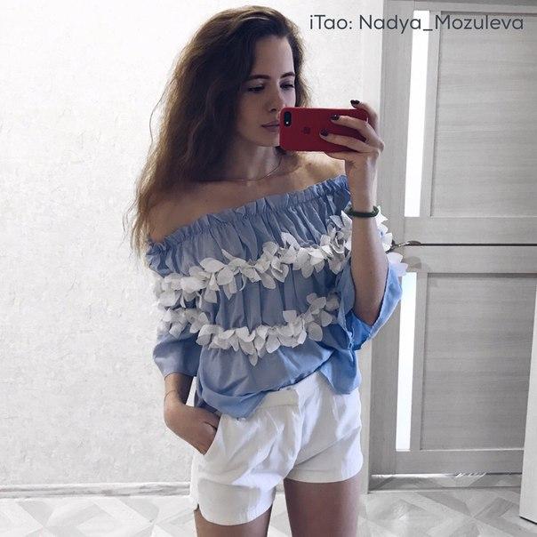 ЛЕГКАЯ ШИФОНОВАЯ БЛУЗКА НА ПЛЕЧИ ИЗ МАГАЗИНА DRZLO Ссылка: http://www.aliexpress.com/item/drzlo-elegant-blouses-floral-tops-plain-blue-off-the-shoulder-elegant-sexy-shirts-new-2016-women/32759891669.html