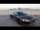 Blacked out 610hp 2017 Audi R8 V10 Plus