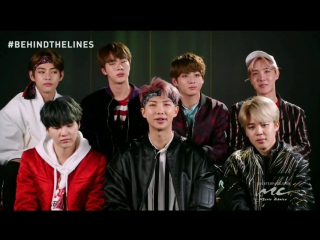 170501 Behind the Lines: BTS Not Today @ Music Choice