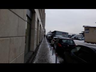 Дорога от метро Площадь Восстания до пространства Область Притяжения