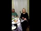 Денис посвещает песню любимой жене!!!
