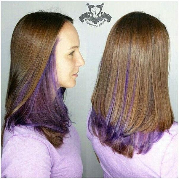 Окрашивание волос двухслойное