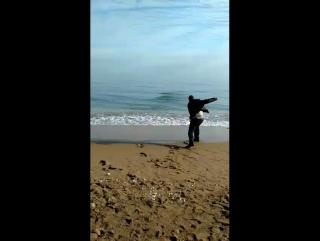 Бросаю камни в море