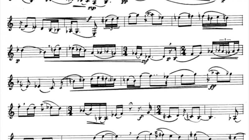 D. Martino - A Set for Clarinet by Alexey Gorokholinsky, mvt. 1