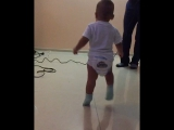 Дамир танцует лезгинку ???