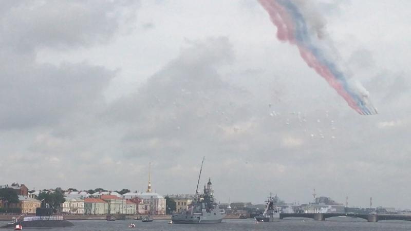 Парад ВМФ.СПб 2017. Конец