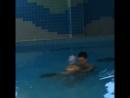 Первые уроки плавания!