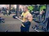 D.M.G. - Влад Кузнецов, тренировка рук в фитнес центре X - FIT ЖЕМЧУЖИНА