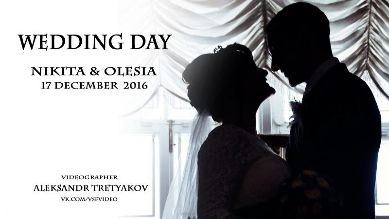 Wedding day Nikita Olesia 17.12.16./ Видеограф Александр Третьяков