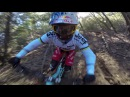 MTB Rachel Atherton shreds the Crestline trail GoPro Gnarwhal captures every facial expression