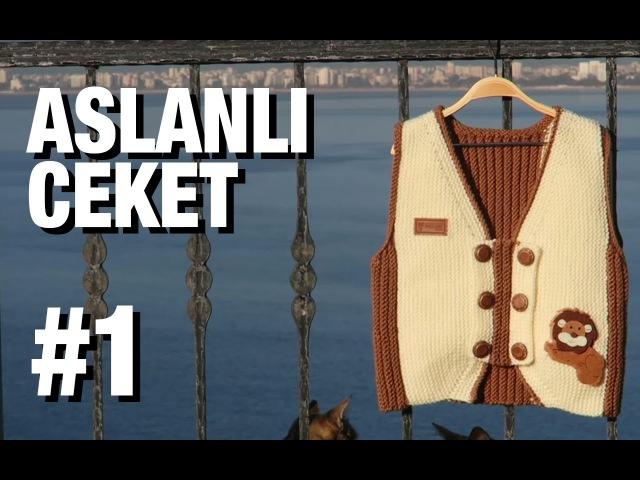 Enine Yelek Nasıl Örülür Detaylı Anlatım - 13. Model (15)