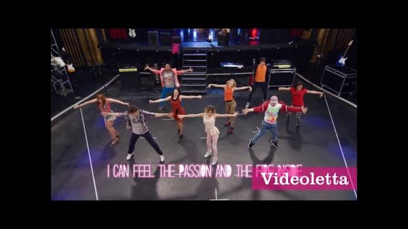 Violetta 3 English: I'm alive (Supercreativa) Music Video with Lyrics