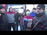 Юрий Шевчук спел для протестующих дальнобойщиков