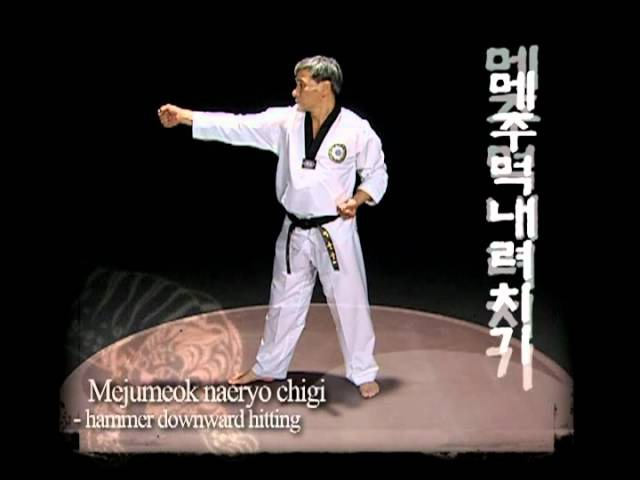Taekwondo WTF - Basic motions 2, Kukkiwon.Vol_2.