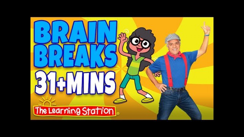 Brain Breaks ♫ Action Songs and Dance Songs for Children Playlist ♫ Move and Freeze ♫ Kids Songs