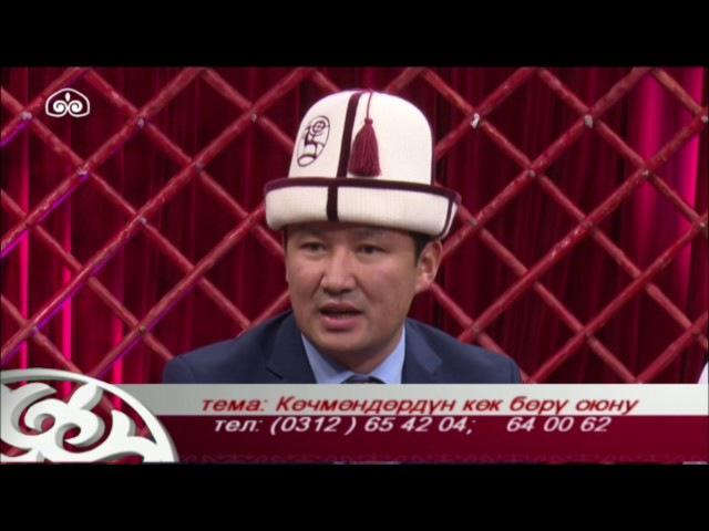 Кыргыз таануу: Көчмөндөрдүн көк бөрү оюну