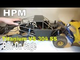 HPM Bolt-On Metal Cage For Axial Yeti Score Trophy Truck - Unbox and Install