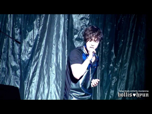 121004 Kim Hyun Joong 김현중 - I'm Your Man (Rock ver.) @ Budokan