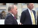 Russia: Putin comments on questioning of artistic director Serebrennikov, theatre search