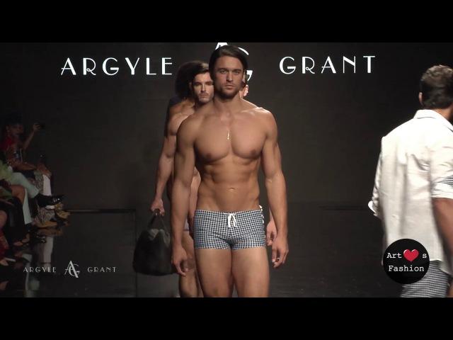 ARGYLE GRANT at Art Hearts Fashion Los Angeles Fashion Week