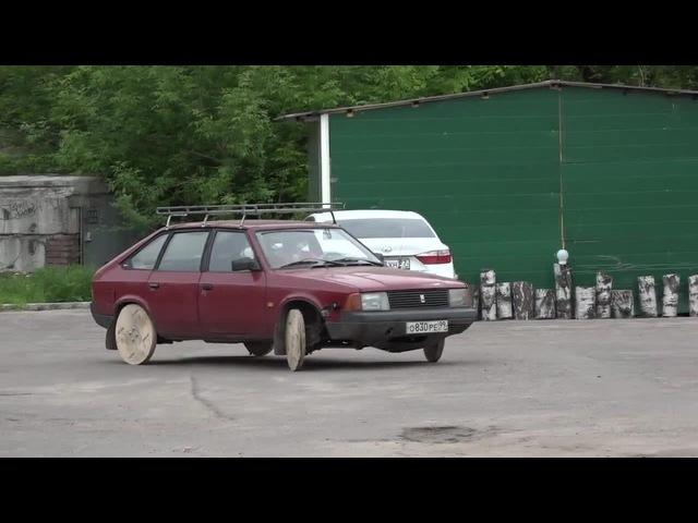 Aleko with wooden wheels