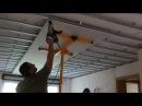 Гипсокартонщики 80 го уровня Технологичный и быстрый монтаж листа гипсокартона своими руками