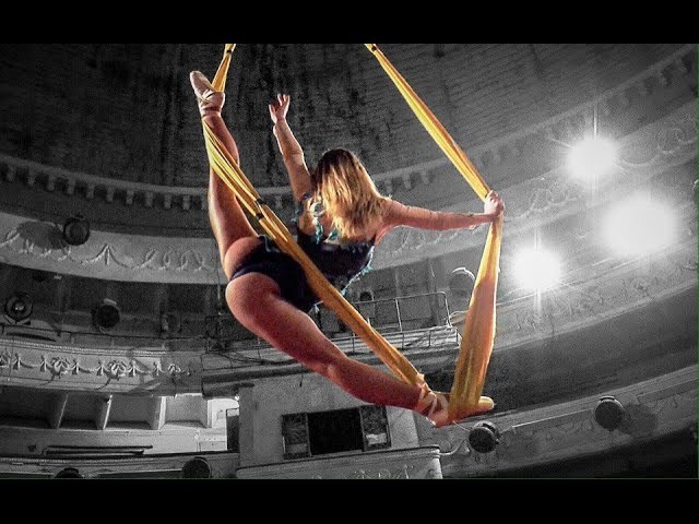 Время чемпионов Алина Викторова - воздушная гимнастка и актриса цирка