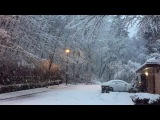 Early Snow in Vancouver December 2016 - Relaxing Music