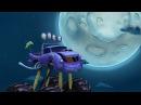 ТРАКТАУН - Монстр-трак на Луне! Мультики про машинки